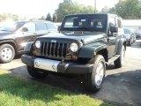 2012 Black Jeep Wrangler Sahara 4x4 #53982177
