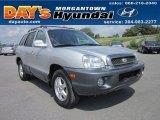 2003 Pewter Hyundai Santa Fe GLS 4WD #53983152