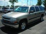 2001 Light Pewter Metallic Chevrolet Suburban 1500 LS #53983116