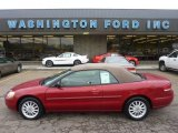 2003 Inferno Red Tinted Pearl Chrysler Sebring LXi Convertible #53980962