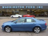 2010 Sport Blue Metallic Ford Fusion Sport AWD #53980951