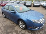 2010 Ford Fusion Sport Blue Metallic