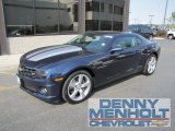 2010 Imperial Blue Metallic Chevrolet Camaro SS Coupe #53982083