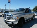 2005 Light Almond Pearl Dodge Ram 1500 Laramie Quad Cab #5392077
