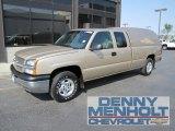 2004 Sandstone Metallic Chevrolet Silverado 1500 LS Extended Cab 4x4 #53982066