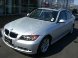 2008 Titanium Silver Metallic BMW 3 Series 328i Sedan #5385461