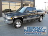 2001 Black Dodge Ram 1500 SLT Club Cab 4x4 #53982054