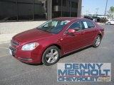 2008 Red Jewel Tint Coat Chevrolet Malibu LT Sedan #53982048
