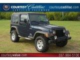 2006 Midnight Blue Pearl Jeep Wrangler Sport 4x4 #53982029