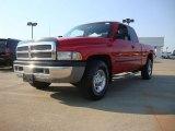2001 Flame Red Dodge Ram 2500 SLT Quad Cab #53981994
