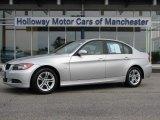 2008 Titanium Silver Metallic BMW 3 Series 328xi Sedan #53980796