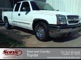 2005 Summit White Chevrolet Silverado 1500 LS Extended Cab #53981922