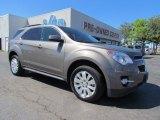 2010 Mocha Steel Metallic Chevrolet Equinox LT #53981889