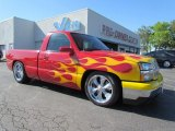 2004 Victory Red Chevrolet Silverado 1500 LS Regular Cab #53981885