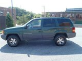 1997 Jeep Grand Cherokee Moss Green Pearl