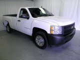 2009 Summit White Chevrolet Silverado 1500 Regular Cab #53981857