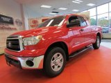 2010 Radiant Red Toyota Tundra Double Cab 4x4 #53982818