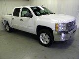 2012 Summit White Chevrolet Silverado 1500 LT Crew Cab 4x4 #53981842