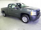 2012 Blue Granite Metallic Chevrolet Silverado 1500 Work Truck Extended Cab #53981839