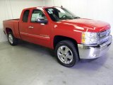 2012 Victory Red Chevrolet Silverado 1500 LT Extended Cab #53981838