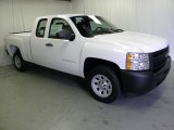 2012 Summit White Chevrolet Silverado 1500 Work Truck Extended Cab #53981837