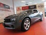 2010 Cyber Gray Metallic Chevrolet Camaro LS Coupe #53982802