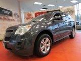 2010 Cyber Gray Metallic Chevrolet Equinox LT #53982800