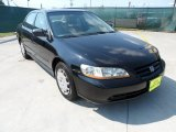 2002 Nighthawk Black Pearl Honda Accord LX Sedan #53980647