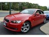 2007 Crimson Red BMW 3 Series 328i Convertible #53980576