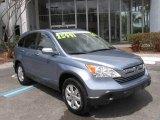 2007 Glacier Blue Metallic Honda CR-V EX-L 4WD #5384494