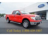 2011 Race Red Ford F150 XLT SuperCab #53980564