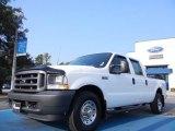 2003 Oxford White Ford F250 Super Duty XL Crew Cab #53980536