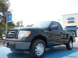 2011 Ebony Black Ford F150 XL Regular Cab #53980525