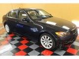 2008 Monaco Blue Metallic BMW 3 Series 335xi Sedan #53981643