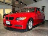 2008 Crimson Red BMW 3 Series 328xi Sedan #53980479