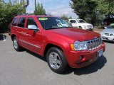 2006 Inferno Red Crystal Pearl Jeep Grand Cherokee Overland 4x4 #53982590