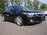 2009 Crystal Black Pearl Acura TSX Sedan #53980467