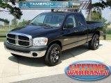 2008 Brilliant Black Crystal Pearl Dodge Ram 1500 SXT Quad Cab #53982544