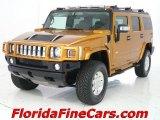 2006 Fusion Orange Hummer H2 SUV #5391103