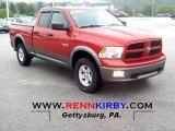 2009 Sunburst Orange Pearl Dodge Ram 1500 TRX4 Quad Cab 4x4 #53981598