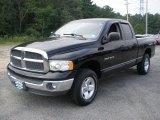 2002 Black Dodge Ram 1500 SLT Quad Cab 4x4 #53980426