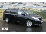 2011 Black Toyota Sienna LE AWD #53980402