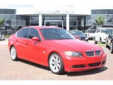 2006 Electric Red BMW 3 Series 330i Sedan #53981552
