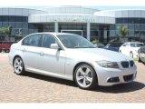 2011 Titanium Silver Metallic BMW 3 Series 335d Sedan #53981508