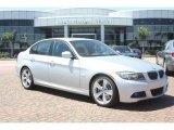2011 Titanium Silver Metallic BMW 3 Series 335i Sedan #53981497