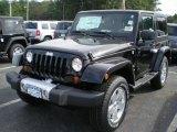 2012 Black Jeep Wrangler Sahara 4x4 #54202443