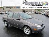 2005 Liquid Grey Metallic Ford Focus ZX4 SES Sedan #53981451