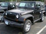 2012 Black Jeep Wrangler Sport 4x4 #54202439