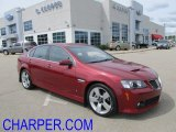 2009 Sport Red Metallic Pontiac G8 GT #54202428