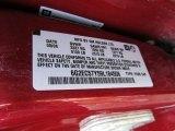 2009 Pontiac G8 GT Info Tag